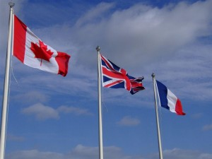Canada Britain and France
